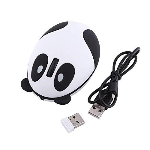 Ratón Óptico Sin Hilos De La Computadora De La Panda 2.4GHz Para El Regalo De Cumpleaños De Los Niños De Win / Mac / Linux / Android / IOS