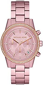 Michael Kors Womens Quartz Watch, Chronograph Display and Stainless Steel Strap MK6753