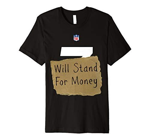 Konservative Fußball Halloween Liberal Kostüm Shirt -