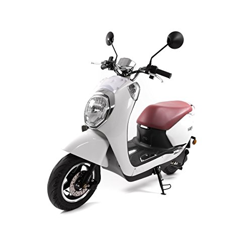 SXT Gekko V2 Scooters eléctricos con 2000W sin escobillas Motor cubo, 45 kmh, 2 Plaza - hasta 70 km Gama