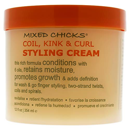 Mixed Chicks Leave In Conditioner (Mixed Chicks Spule, Kink & Locken Styling Creme 354ml)