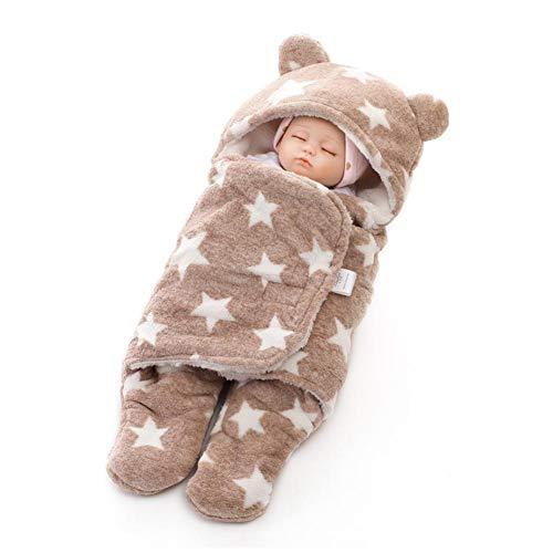 Baby Wickeldecke Kinderwagen Coral Velvet Baby Kids Kleinkind Thick Knit Soft Warm Fleece Decke Swaddle Schlafsack Schlafsack Kinderwagen Für Jungen Und Mädchen