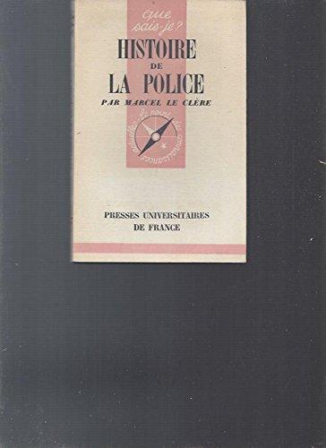 Histoire de la police