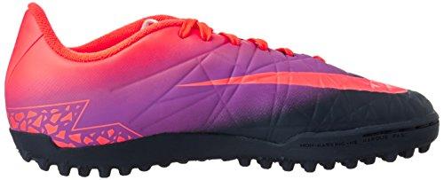 Nike 749922-845, Chaussures de Football Garçon Multicolore (Total Crimson/obsidian-vivid Purple)