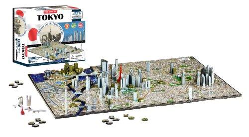 4D Cityscape 40034 Tokyo, Japan Puzzle