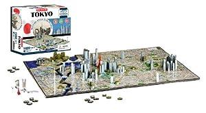4D Tokio paisaje urbano tiempo Puzzle (4D paisaje urbano) | 4D del paisaje urbano
