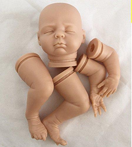 Pursue Baby Kits de Muñecas Reborn Dolls sin Pintar realistas, 18 Pulgadas de Ojos Cerrados de Silicona Suave de Vinilo bebé Muñeca Kit de Muñeca