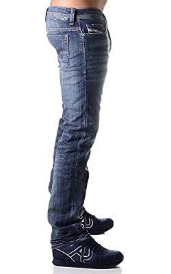 Diesel Men's Safado L.32 Pantaloni Straight Jeans
