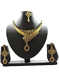 Fashion Jewellery Gold Plated Combo Of Two Traditional Necklace Set For Women Party Wear And Wedding Wear Jewellery...