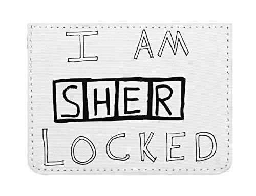 I Am Sherlocked T-Shirt Taschenformat Kreditkartenetui (Herr Luke Valentine)