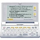 Sharp PW-E430 elektronisches Wörterbuch Deutsch/Englisch/Spanisch
