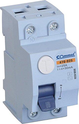 Interrupteur fi de protection 10 16 20 25 32 40 B Disjoncteur automatique Disjoncteur, 25A 30mA 2 - Polig