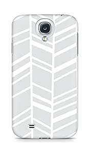 Amez designer printed 3d premium high quality back case cover for Samsung Galaxy S4 (grey swuares)