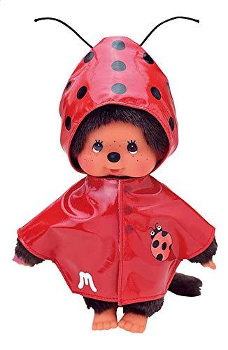 Monchhichi Kleidung für Standard Monchichi 20 cm - Verschiedene Designs (Regenjacke Marienkäfer)
