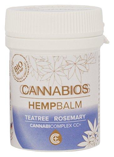 *Cannabios Bio-Hanfbalsam mit Teebaumöl & Rosmarin 50ml*