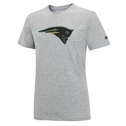 and Patriots Camo Logo T-Shirt -Gray-, Größe :XXL ()