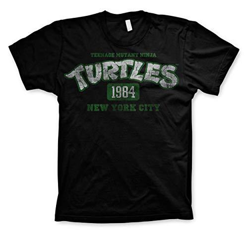 Teenage Mutant Ninja Turtles 1984 T-Shirt schwarz XXL