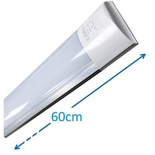 LA Luminaria LED de Superficie 60cm,20w, Blanco Frío 6500K. Directa y sin parpadeos. 18w. 60cm...