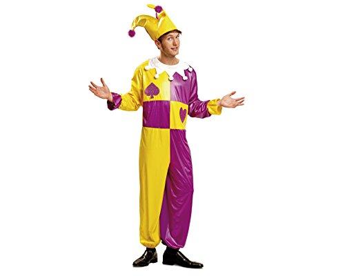 Imagen de my other me  disfraz de bufón para hombre, talla m l viving costumes mom00562