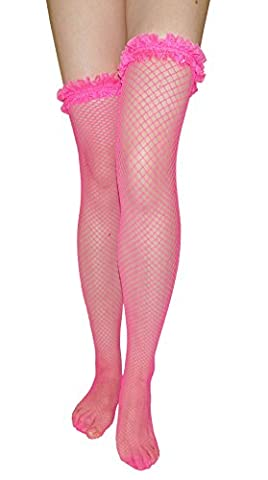 ladies non-slip fishnet stockings stay up hold ups knee high over knee socks with reinforced lace garter top (1 pair hot