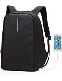 Sac à dos Anti-vol Sac à dos pour ordinateur portable avec port de Chargement USB Externe imperméable Sac de Voyage / Affaires Sac pour Homme et Femme