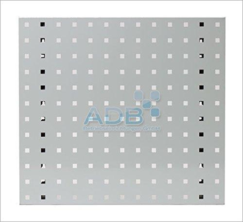 System-Lochplatte, BxH 1500x450 mm, lichtgrau RAL 7035