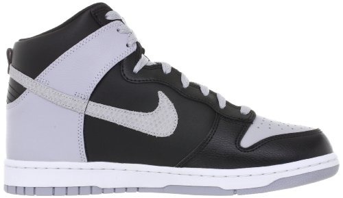 Nike Dunk high 317982048, Baskets Mode Homme Noir