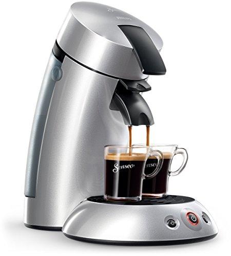 Senseo HD7818/50 Original Kaffeepadmaschine (1 - 2 Tassen gleichzeitig) silber