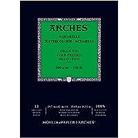 Unbekannt Arches–Bloc para Acuarelas, Madera, Color Blanco, Madera, weiß, 29.7 x 42 x 1 cm