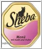 Sheba Menü mit Kalb&Huhn 100g