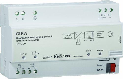 Gira 107900 Spannungsversorgung 640 mA KNX EIB REG
