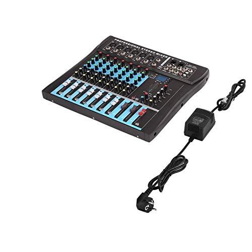 CT8 8-Kanal-Stereo-Mischpult Live USB Studio Audio Sound-Konsole Netzwerk Ankergerät Vocal-Effekt-Prozessor