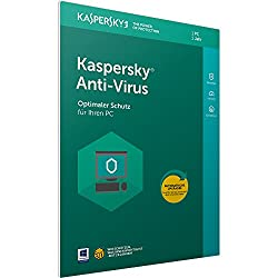 Kaspersky Anti-virus 2018 Standard | 1 Gerät | 1 Jahr | Windows | Download