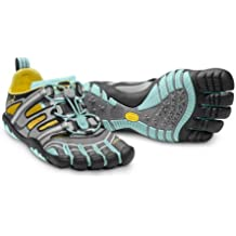Vibram Five Fingers–Treksport Sandal (Mujer)–dedos guantes–Black/Dark Grey