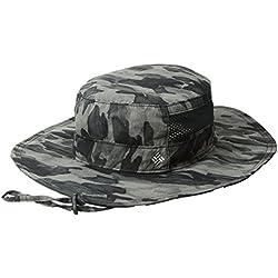 Columbia Bora Sombrero, Unisex, Negro Camuflaje, Talla única