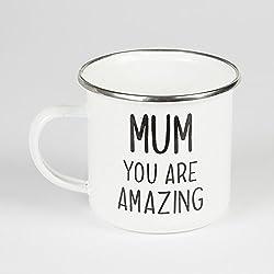 Mum You Are Amazing Taza esmaltada: en022
