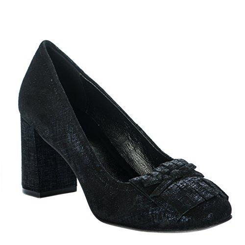 Mocassins femme - CYPRES - Noir - 803 - Millim Noir