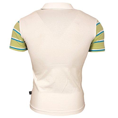 Rusty Neal Herren Polo Shirt Kragen Champoins 4 RN811 Weiß -eppics ... 20d4983c7a