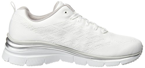 Skechers - Skech-flex- West End, Scarpe tecniche Donna Blu (NVHP)