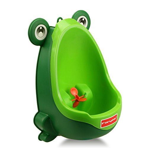 foryeecute-frog-potty-training-urinal-for-boys-with-funny-aiming-target-blackish-green-by-foryee