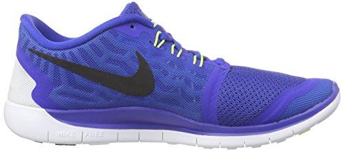 Nike Free 5.0 (Gs), Chaussures Multisport Indoor mixte enfant Bleu (blue 400)