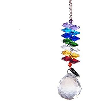 Hd chandelier crystals ball prism pendant rainbow maker chakra hd chandelier crystals ball prism pendant rainbow maker chakra cascade suncatcher mozeypictures Image collections