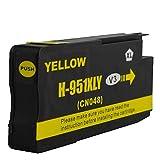 1 Drucker Patrone für HP 951XL Yellow Officejet Pro 8610 8620 8615 mit Chip