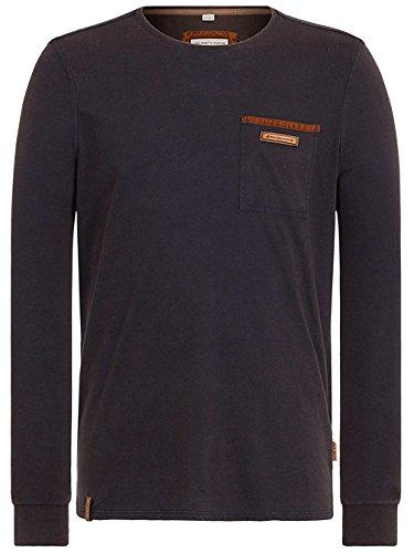 Naketano Male Sweatshirt Suppenkasper Langen V heritage dark blue