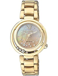 Citizen Damen-Armbanduhr XS Citizen L Analog Quarz Edelstahl EM0325-55P