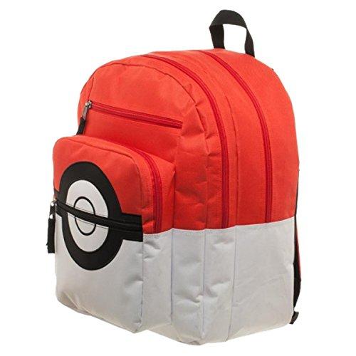 Mochila oficial Pokemon Pokeball con entrenador bolso encanto - la esc