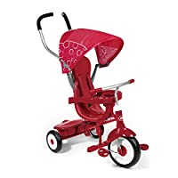 Radio Flyer 812A 4-in-1 Base Trike, Red