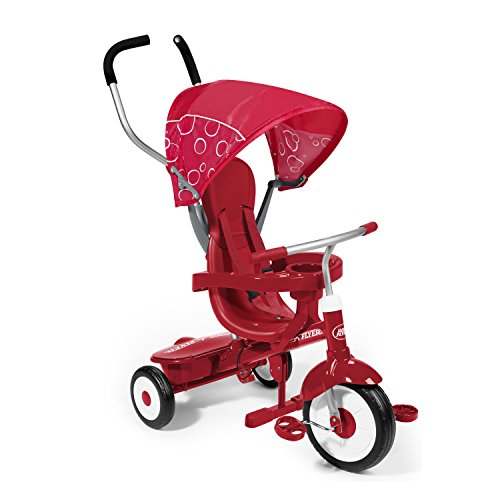 Radio Flyer - Tricicleta, Color Rojo (812A)