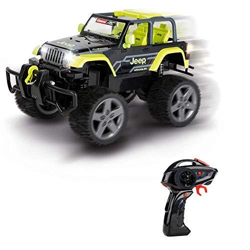 Carrera RC 370162104X 2,4GHz Jeep[R] Wrangler Rubicon, Green, Mehrfarbig
