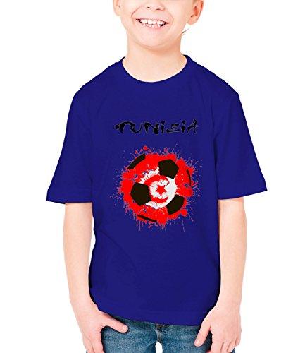 billion-group-tunisia-eagles-of-carthage-football-sport-illustration-boys-classic-crew-neck-t-shirt-